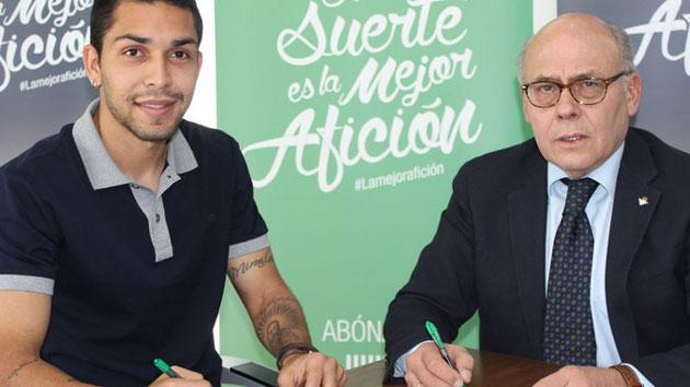 Petros Mattheus, nuevo jugador del Betis