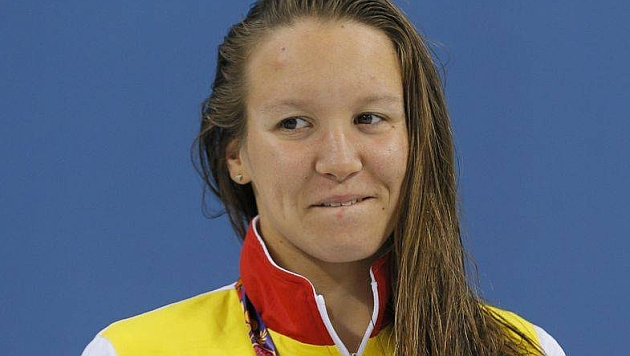 La nadadora Marina Castro logra su segundo bronce