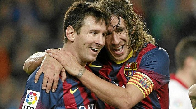 Puyol y su anécdota con Messi, el extraterrestre