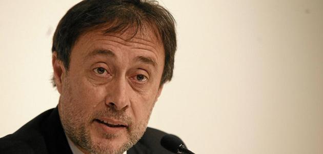 Agusti Benedito durante una rueda de prensa