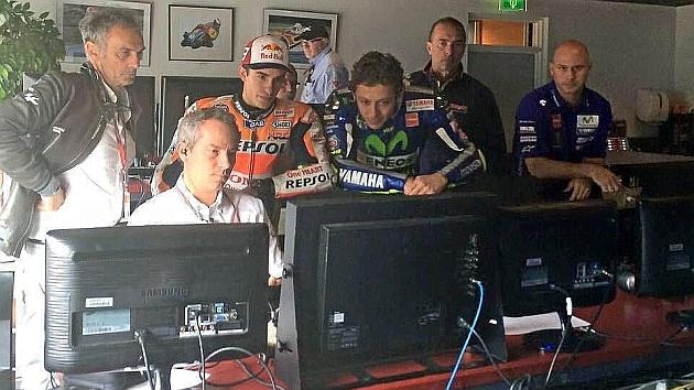 Rossi ataja por causa de fuerza mayor