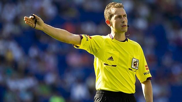 El árbitro González González tiene la mejor nota de Primera
