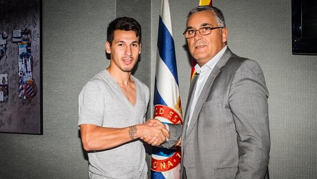 Hernán Pérez ya es jugador del Espanyol