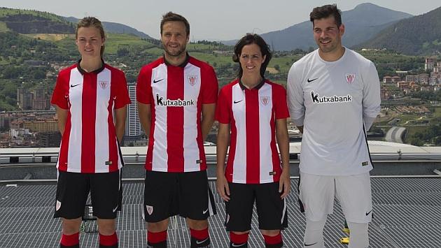Presentación de la nueva camiseta del Athletic