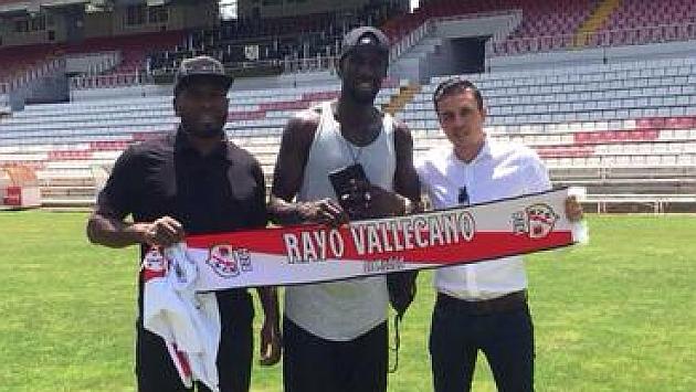 Cissé, mediocentro defensivo del Dijon, nuevo jugador del Rayo