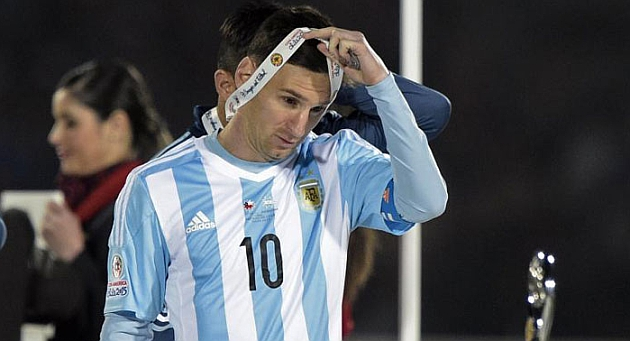 Messi refused Copa América best player prize