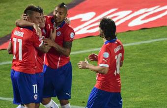 Chile vs Argentina en directo