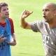 Guardiola se pelea con Müller en el entrenamiento
