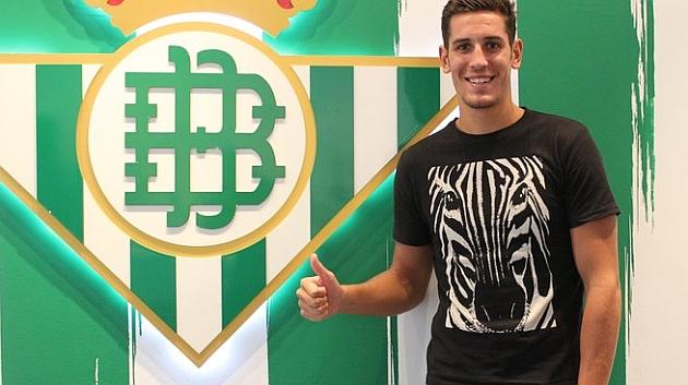 Álex, en el palco de honor del Benito Villamarín | Foto: Real Betis