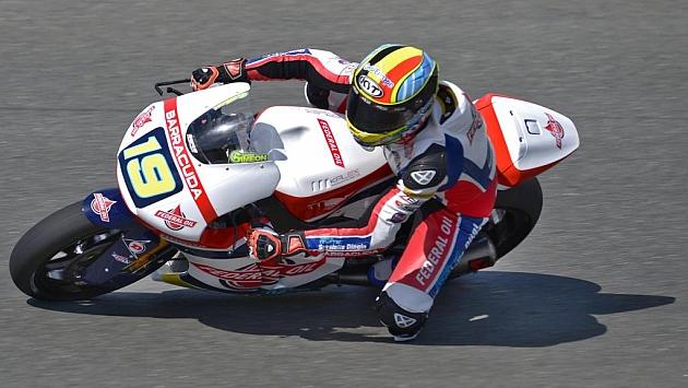 Xavier Simeón consiguió la primera victoria de su carrera / AFP
