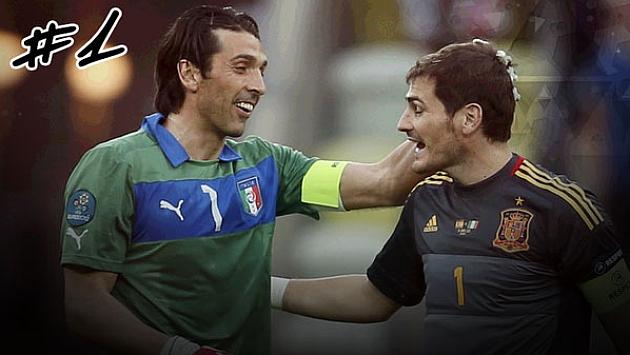 Buffon: Good luck Iker