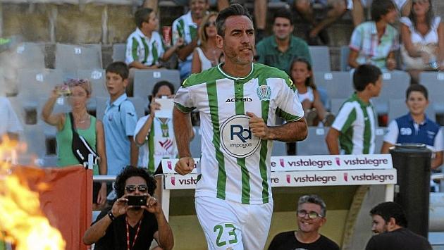 Abel Gomez, la pasada temporada con el Córdoba