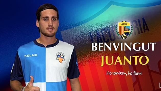 Juanto Ortuño, nuevo jugador del Llagostera