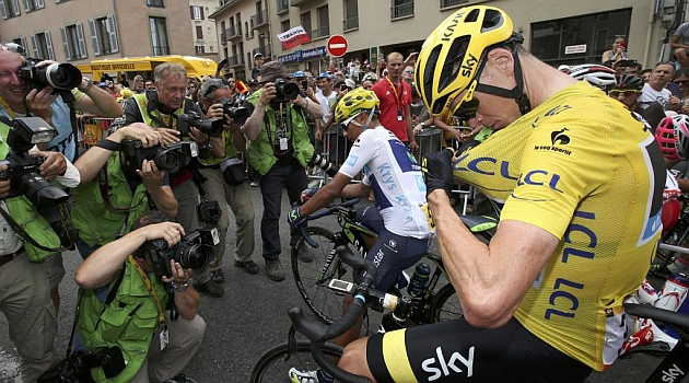 Chris Froome. REUTERS