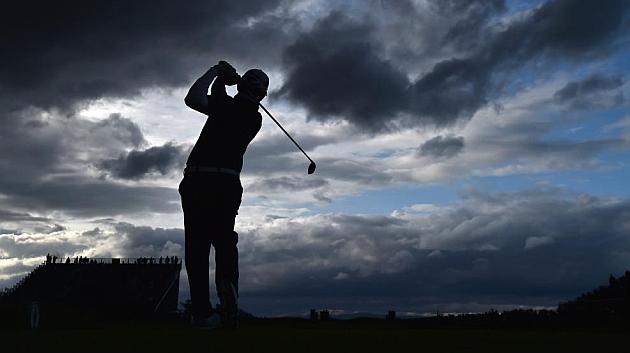 Las lluvias torrenciales suspendieron el juego en St Andrews, Escocia