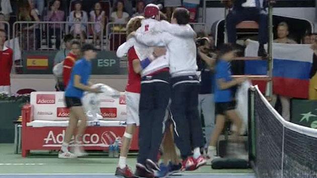 Golpe Mundial al tenis español