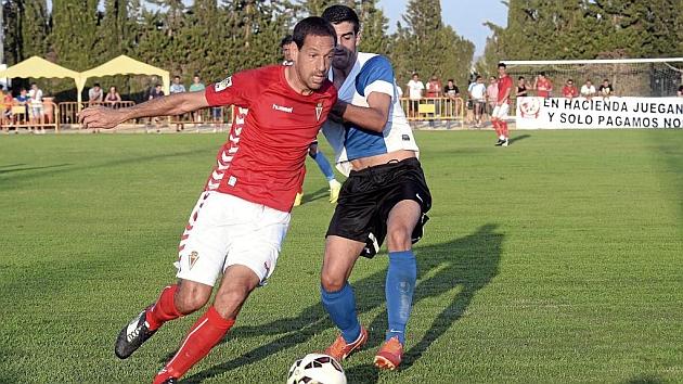 Acciari, en un partido con el Murcia.