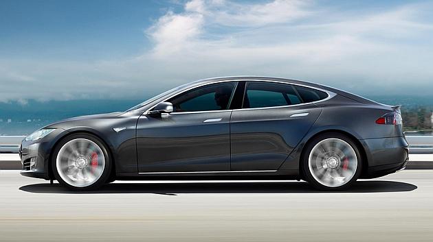 El Tesla Model S, a la altura de los superdeportivos