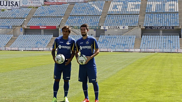 Los nuevos jugadores del Getafe