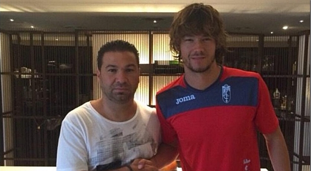 Khrin, nuevo jugador del Granada.