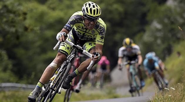 Alberto Contador. AFP