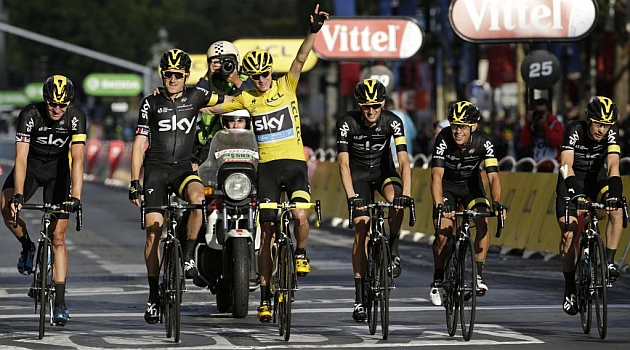 Froome holds firm for 2nd Tour title
