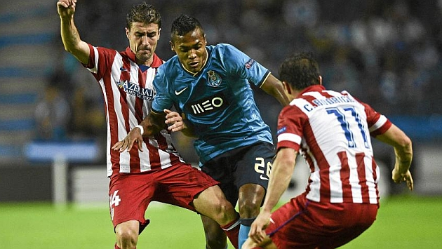 Alex Sandro, en un partido frente al Atlético