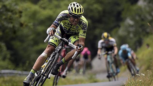 El ciclista madrileño, durante el pasado Tour de Francia.
