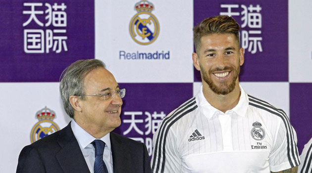 Sergio Ramos signs on until 2020