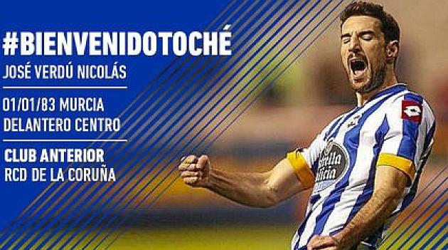 Toché refuerza al Real Oviedo