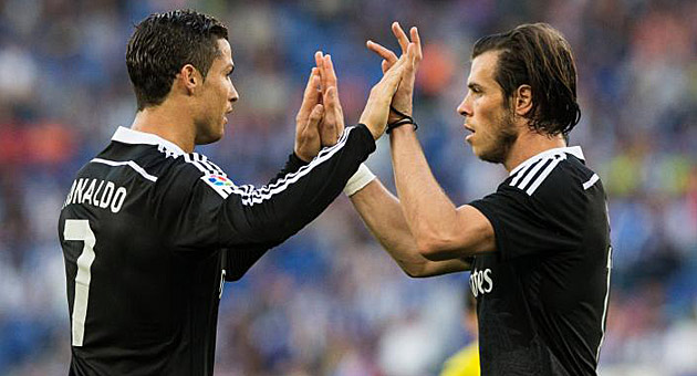 Bale through the middle and freedom for CR7