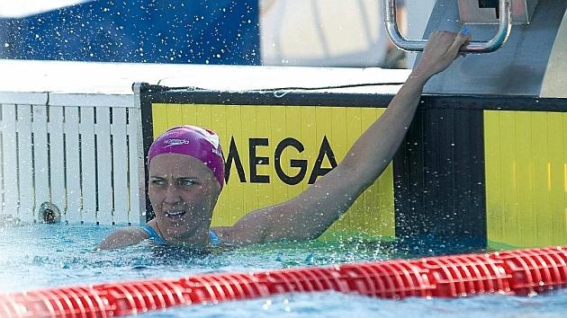 Melani Costa quedo sexta en los 400 libre