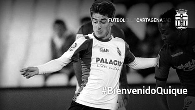 Quique Rivero nuevo jugador del Cartagena