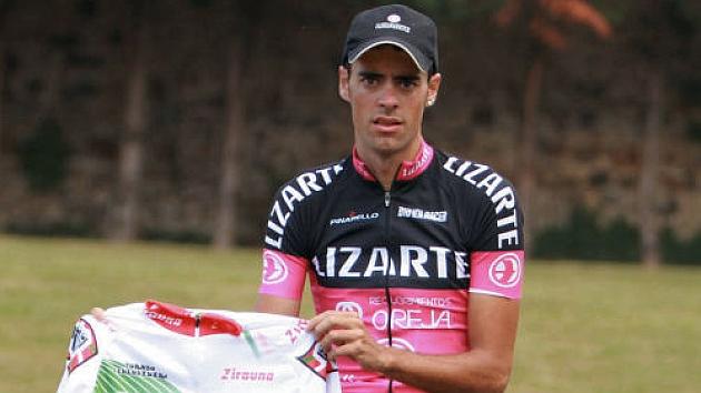Jorge Arcas, tras ganar el Trofeo Lehendakari 2014