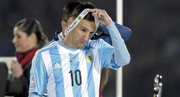 Si yo fuera Messi, no jugaría para Argentina