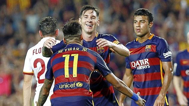 Messi, Suárez and Neymar all shine