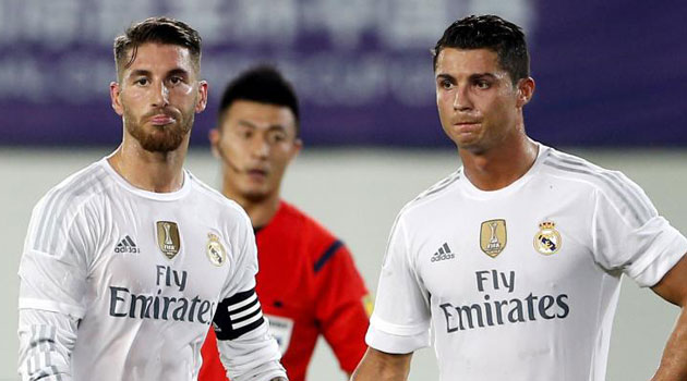 Cristiano and Ramos out for Norwegian trip