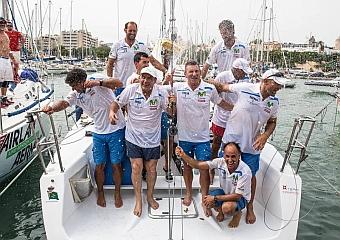 Ocho campeones en la bahía de Palma
