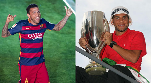 Alves gunning to match Maldini