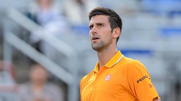 Novak Djokovic en el partido ante el brasileño Belluci