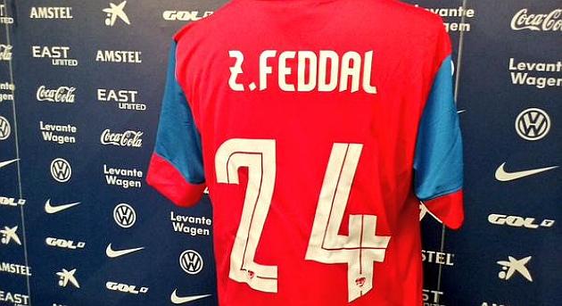 Camiseta de Feddal del Levante.