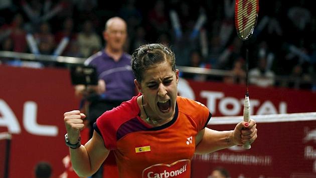 Carolina Marín va a por otro oro