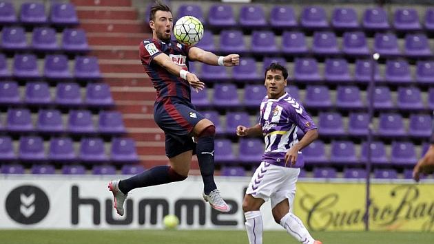 Un gol de Óscar permite que el trofeo se quede en Zorrilla