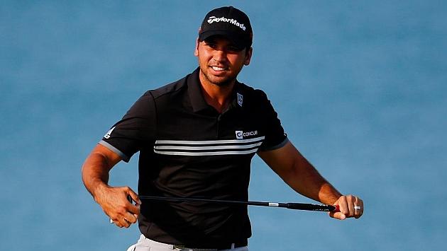 Jason Day en una imagen de su última vuelta en el PGA Championship