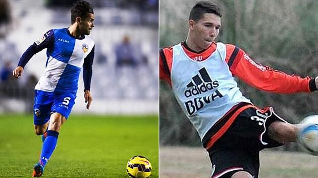 Cristian García y Tomás Martínez, los nuevos fichajes del Tenerife.