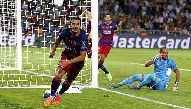 Pedro checks in at Chelsea