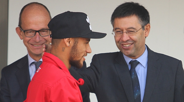 Bartomeu: We want Neymar to retire at Barça