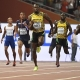 Bolt conquista el triplete dorado con el oro de Jamaica en el 4x100