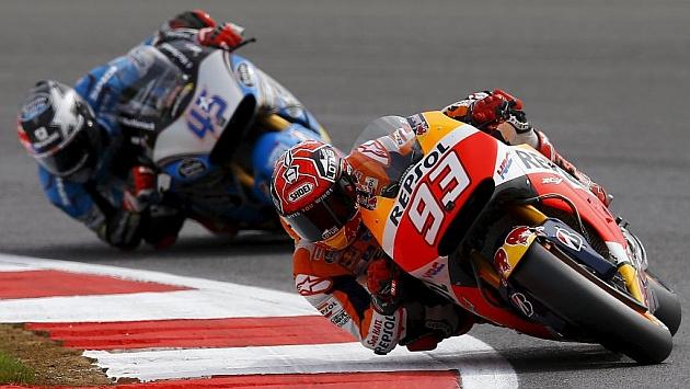 Márquez: Lorenzo y Rossi son muy fuertes en carrera