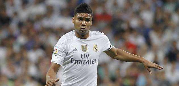 Casemiro renews with Real until June 2021